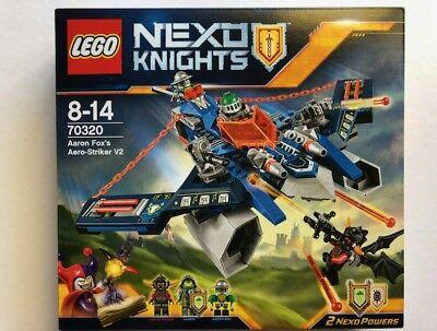 Lego Nexo Knights 70320 Aaron Fox/'s Aero-Striker V2 NEU /& OVP