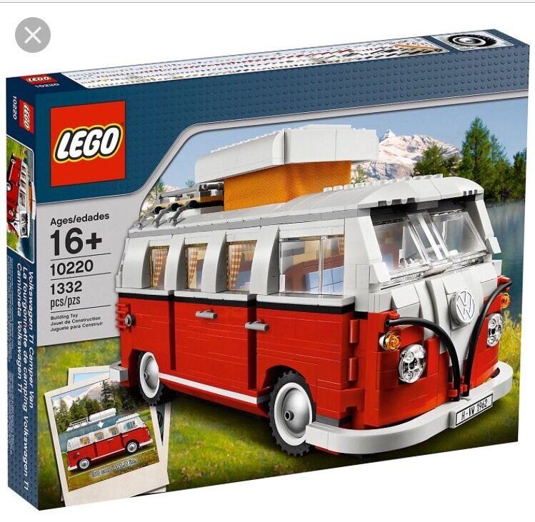 LEGO Set - Volkswagen Camper Van - 10220 - New & Sealed