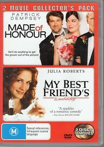 My-Best-Friend-039-s-Wedding-Made-Of-Honour-DVD-2009-1-Disc-Set-2-MOVIESt-OB4