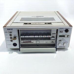 Vtg AKAI VP-7350U Activideo Portable Color Video Cassette Recorder VCR FOR PARTS