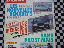 AUTO-HEBDO 1987 MERCEDES 190E AMG + BRABUS + SCHULZ / GRAND PRIX SAN MARIN