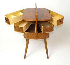 Nähkasten Utensilo 50er 60er Danish Modern Teak Span Sewing Storage Box
