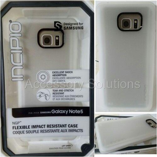 meet 37cd0 57b34 Samsung Galaxy Note 5 Incipio NGP Case - Frost