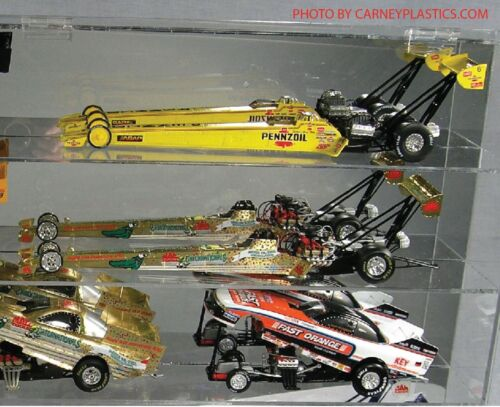 NHRA Diecast Dragster 1:24 Display Case 10 Top Fuel