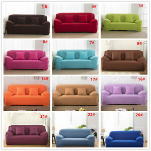 1-4-Seater-General-Elastic-Fabric-Protector-Sofa-Covers-Couch-Slipcovers-Stretch