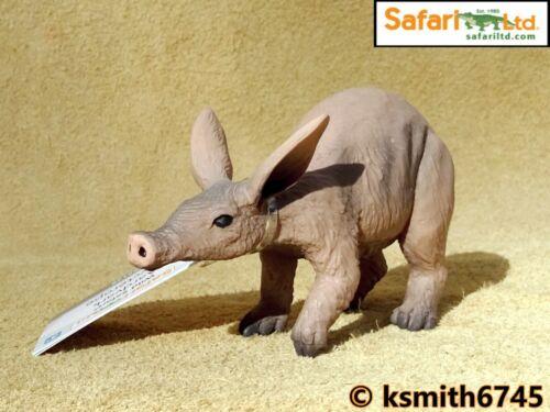 Safari Aardvark solide Jouet en plastique figure Wild Zoo Animal NOUVEAU *