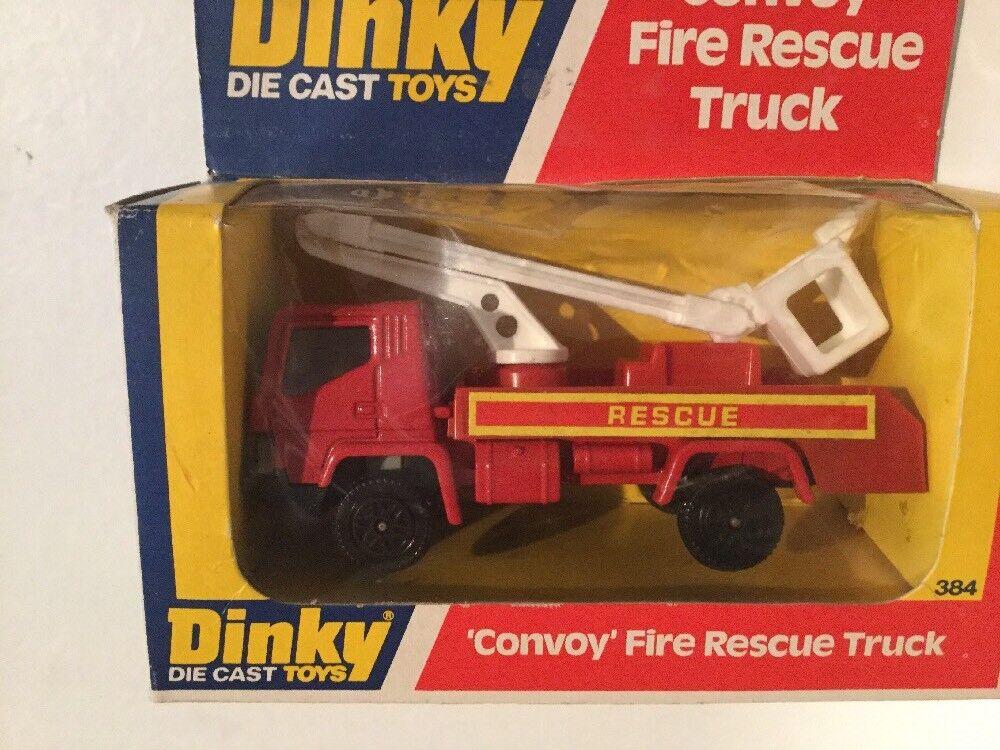 Vintage Vintage Vintage Dinky Toys convoy rescate camión de bomberos no 384 & Volquete Camión no 382 29dd83