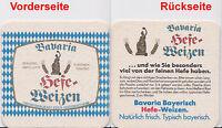 Bierdeckel beer mats coaster - 1x Bavaria Hefe-Weizen Privatbrauerei Großostheim