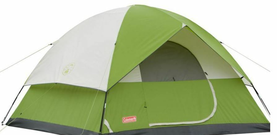 Coleuomo Instant Tent all'aperto campeggio 6 Person Sundome Weathertec Easy Setup
