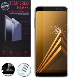 Lot-Pack-Film-Verre-Trempe-Protecteur-pour-Samsung-Galaxy-A8-2018-A530F-5-6-034