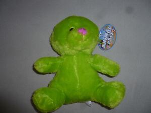 New W Tag Animal Pals Lime Green Bear Plush Toy Nwt Kellytoy Stuffed