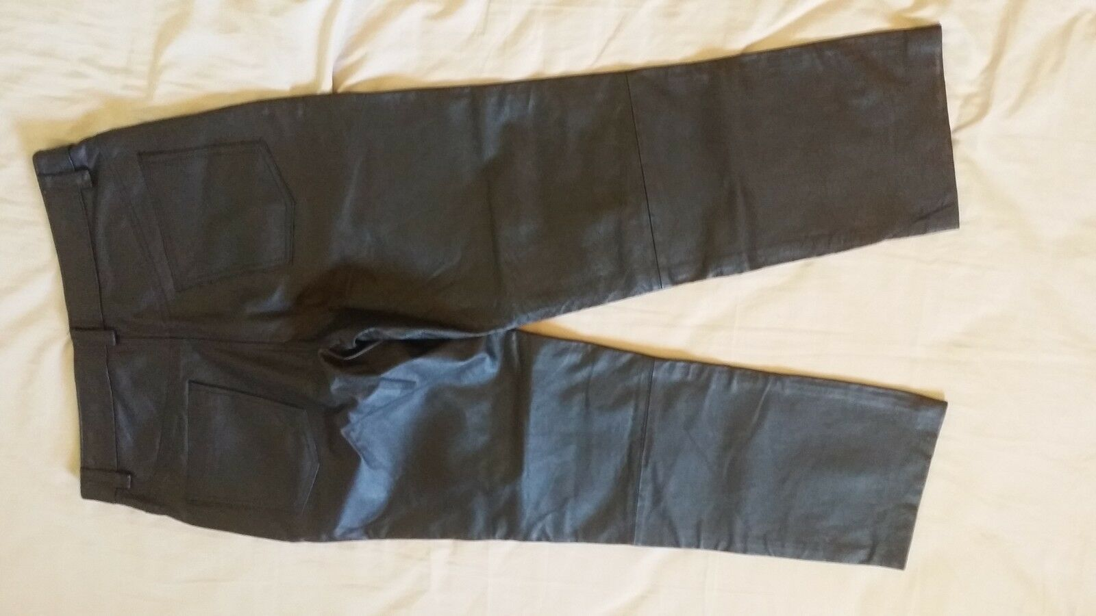 Quality Leather Men's Pants Trousers size 34 34
