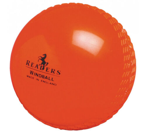 Pack of 24 Readers Windball Orange Cricket Balls Adult and Youth Sizes