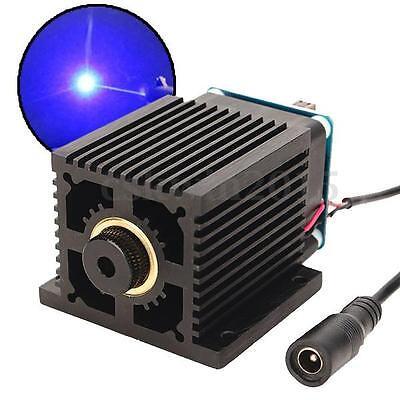 445nm 5500mW 5.5W Blue Laser Module + Adapter for EleksMaker CNC Cutter Engraver