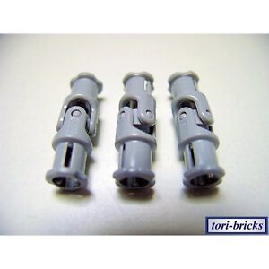 6 x Lego Technic Gelenke 3L neu-hell grau Universal Joint 4525904 62520c01 61903