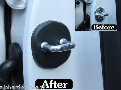 Door Striker Cover Set Door Hook Cover 4pcs for 2014-2015 KIA SORENTO