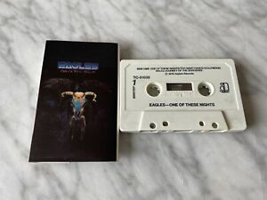 Eagles One Of These Nights CASSETTE Tape 1975 Asylum TC-51039 Joe Walsh RARE OOP