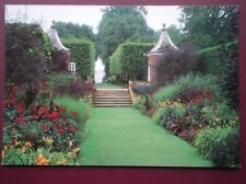 POSTCARD GLOUCESTERSHIRE HIDCOTE MANOR GARDENS - THE RED BORDER NATIONAL TRUST