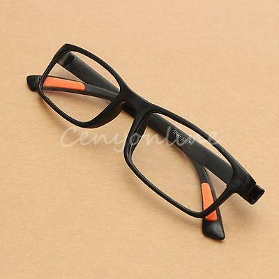 Fashion Black TR90 Light Weight Framed Reading Glasses Eyeware Resin Lens Unisex