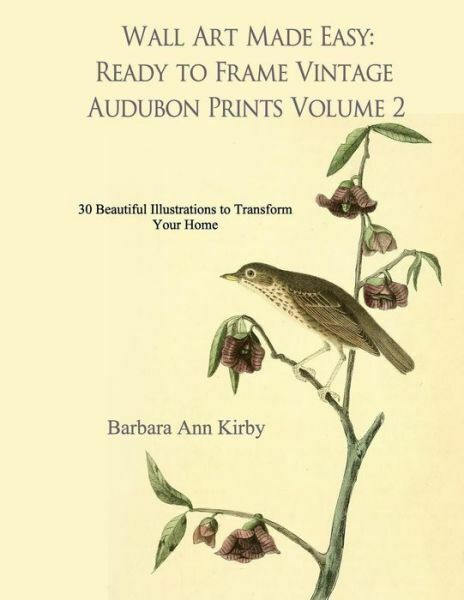 Wall Art Made Easy Ready To Frame Vintage Audubon Prints Volume 2 30 Beautiful Illustrations To Transform Your Home By Barbara Kirby 2017 Trade Paperback For Sale Online Ebay