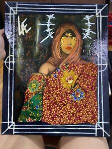 Mixed-Media-Canvas-Art-Hand-made-Acrylic-Painting-based-on-Malaysian-history