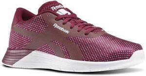 34daf2e7dcf5b7 Reebok Royal EC Ride GFX AR3156 Womens UK 6 Berry   Lilac ...