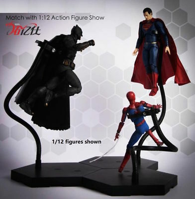 """Dynamic Stand For 12/"""" Action Figure Hot Toys Phicen Display *USA FREE SHIPPING*"""