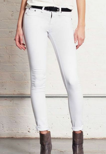 SZ 30 Rag & Bone Jeans Bright White Legging Leggings