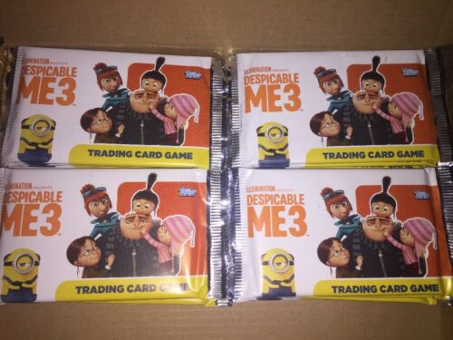 Despicable ME3 Cards 50 Sealed Packets