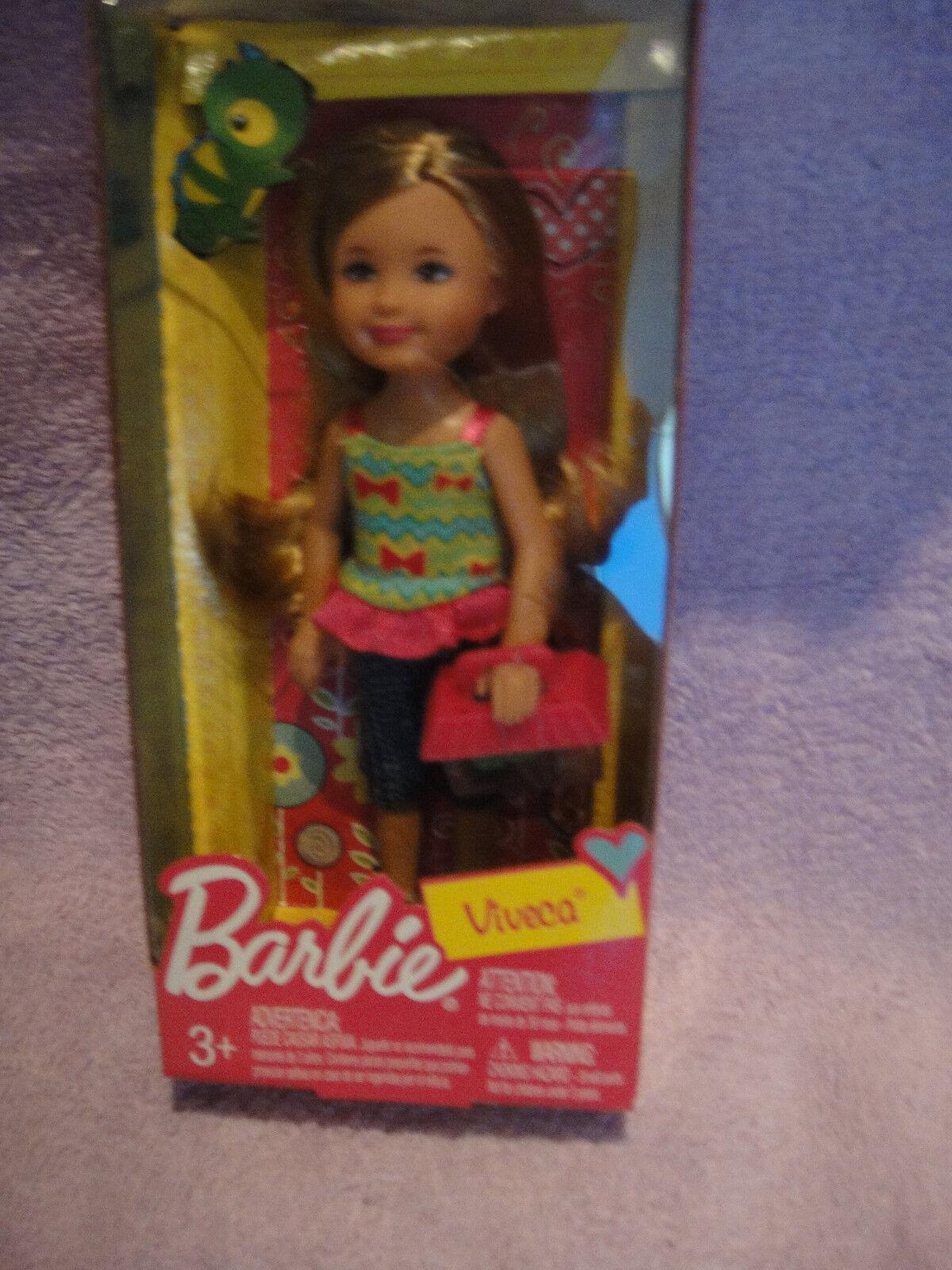Barbie Friends Shelly     Kelly   Viveca with pet lizard   eidechse 086fae