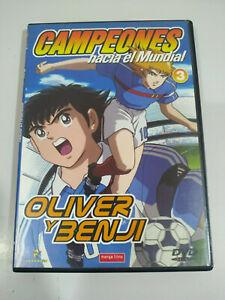 Oliver y Benji Campeones Hacia el Mundial Episodios 29-42 - 2 x DVD Español