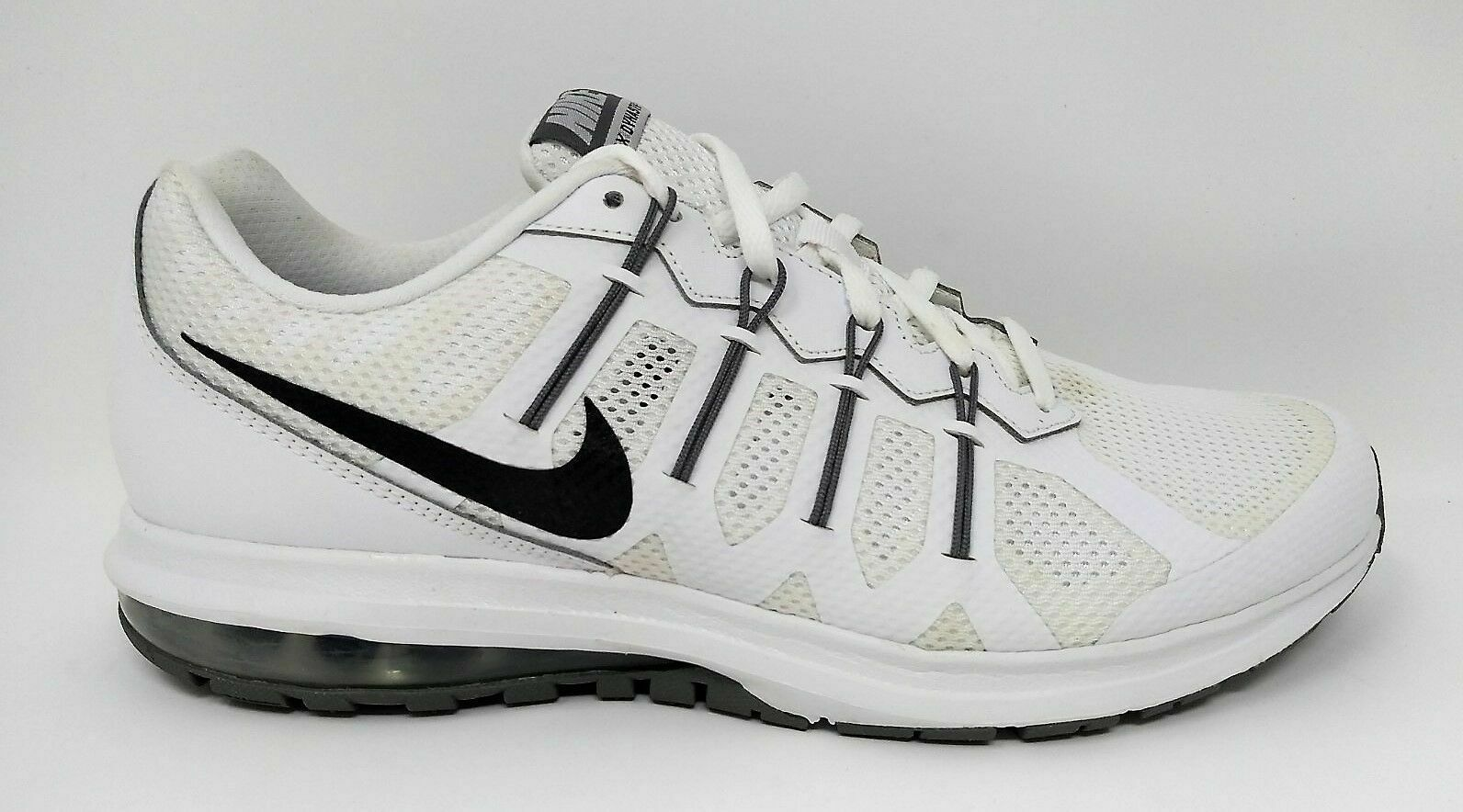NIKE MENS AIR MAX DYNASTY TRAINING RUNNING SNEAKERS WHITE COOL GREY SIZE 11