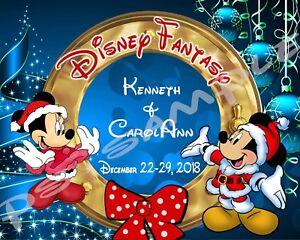image is loading 8x10 custom disney cruise door magnet christmas 3 - Disney Christmas Cruise