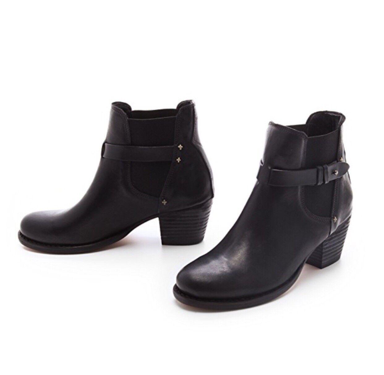 Rag & Bone Black Durham Chelsea Ankle Boot Size EU 39.5, US 9.5