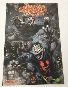 Insane-Clown-Posse-ICP-The-Pendulum-11-Comic-Book-Chaos-October-2001-VG