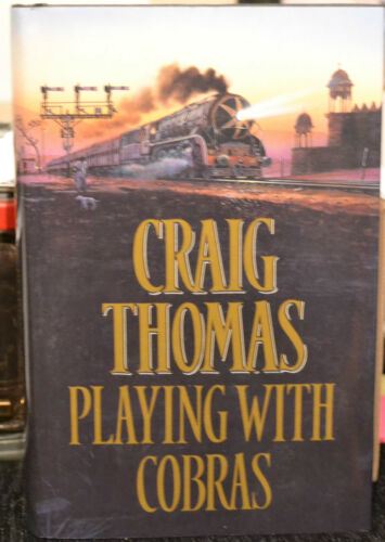 1 of 1 - Playing with Cobras by Craig Thomas (BCA edition hardback, 1993)