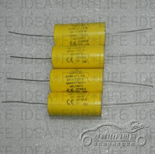 1pc Arcotronics AV 3000V 0.068UF 750V C4C 683J MKP SH Coupling Capacitor 2681 XH