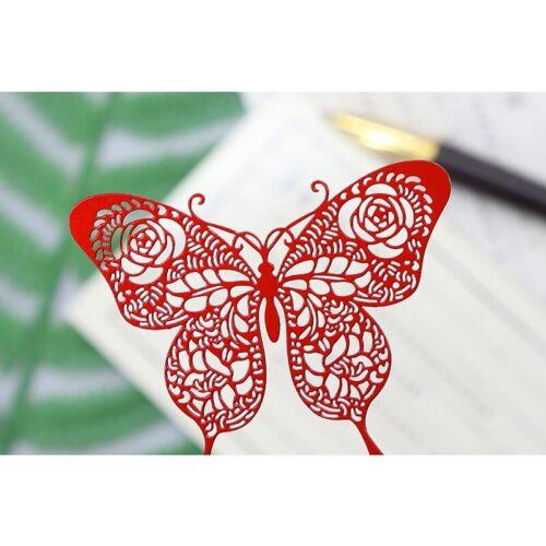 Stanzschablone Rose Blume Schmetterling Oster Weihnachts Geburtstag Hochzeit DIY