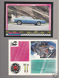 1966 DODGE CORONET 500 HEMI 426 V8 Muscle Car Photo 1991 TRADING CARD