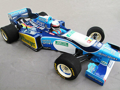 1//10 1994 F1 Williams FW16 Senna RC car body with decal for Tamiya F103 F104W
