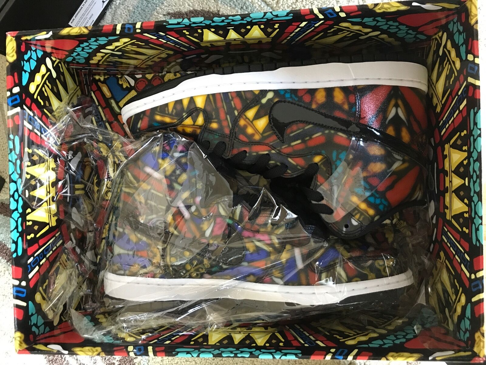 Nike x Concept Dunk High SB Stained Glass special box