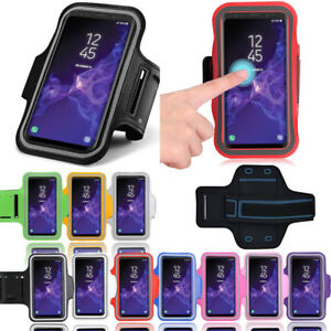 meet 184d2 c7ff6 Details about Fancy Sport Armband For Samsung Galaxy S9+ Workout Running  Jogging Exercise Case