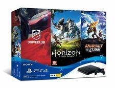 Sony PlayStation 4 PS4 Slim 500GB NBA 2K17 or Hits Bundle
