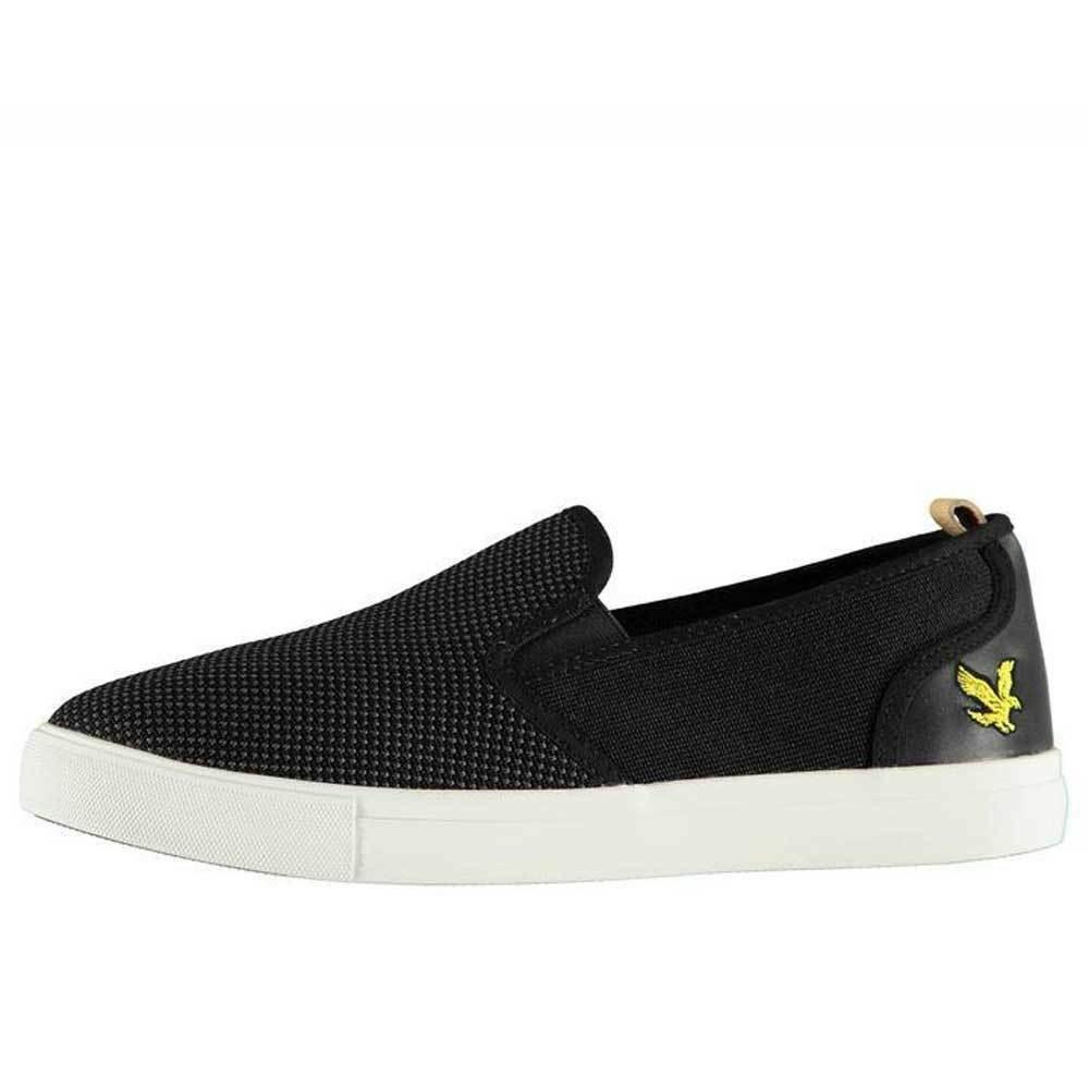 Lyle and Scott Matteo shoes True Black