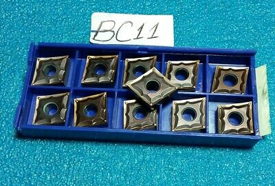 SUMITOMO  CNGG430ESU  CNGG120401N-SU   AC520U  CARBIDE INSERTS   11 PCS