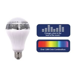 Wireless Bluetooth Control Speaker LED Colorful Light Bulb Chroma Melody Music