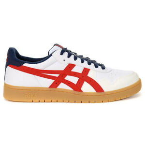 ASICS Men's JAPAN S Running Shoes White/Classic Red 1193A158.100 NEW