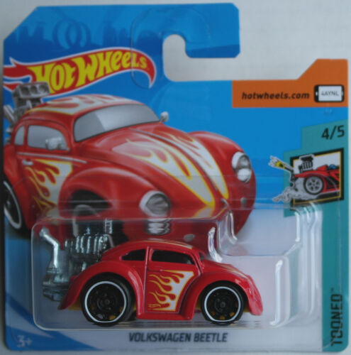 Hot Wheels VW Volkswagen Käfer Beetle Funny rot Flammen Flames Tooned Neu/OVP HW Spielzeugautos