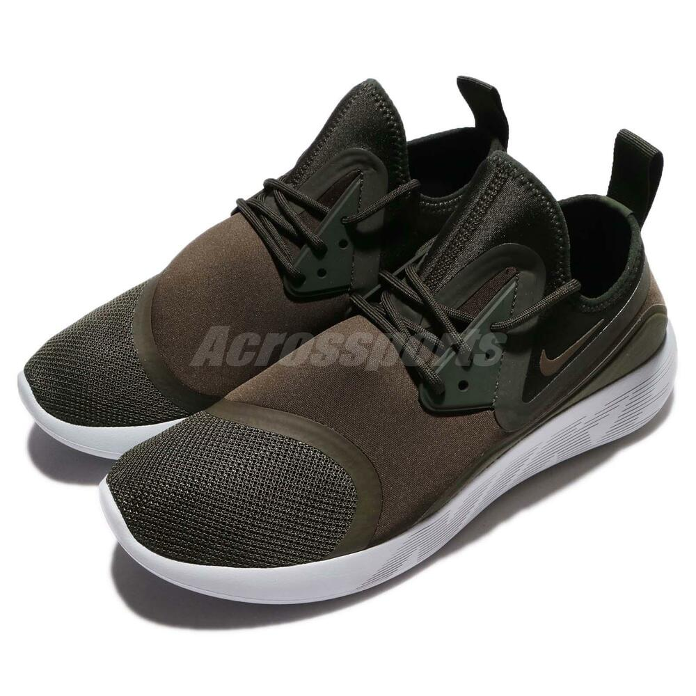 Nike Lunarcharge Essential NSW Cargo Khaki Green homme fonctionnement chaussures 923619-301