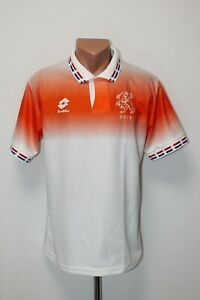 Netherlands Holland Football Shirt Jersey Camiseta Soccer Euro 1996 Away Size M